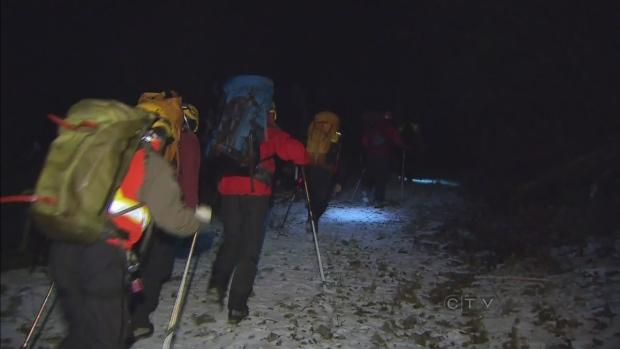 CTV BC: Search and rescue retrieve gear
