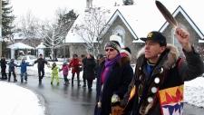 Aboriginal protest closes Trans-Canada Highway