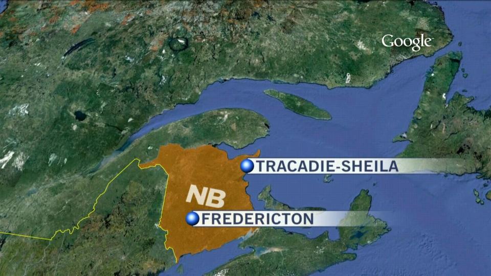 Tracadie River in northeastern New Brunswick