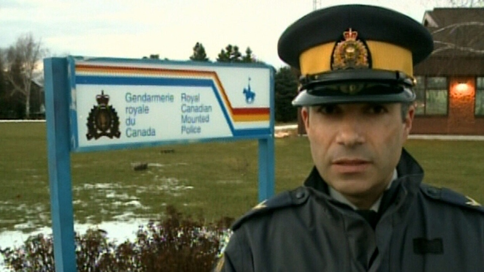 RCMP Col. Guy Paul Laroque speaks about the recovery of four bodies after a vehicle plunged into the Tracadie River on Saturday, Dec. 22, 2012.