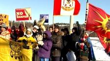 Idle No More closes TransCanada highway