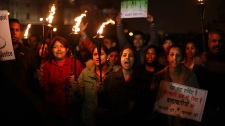 Protest against gang rape in India