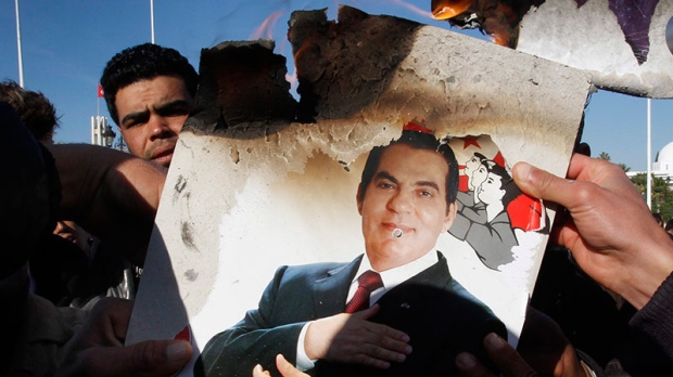 Ex-Tunisian dictator's property goes under hammer