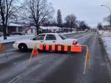 Serious crash Regent Avenue West