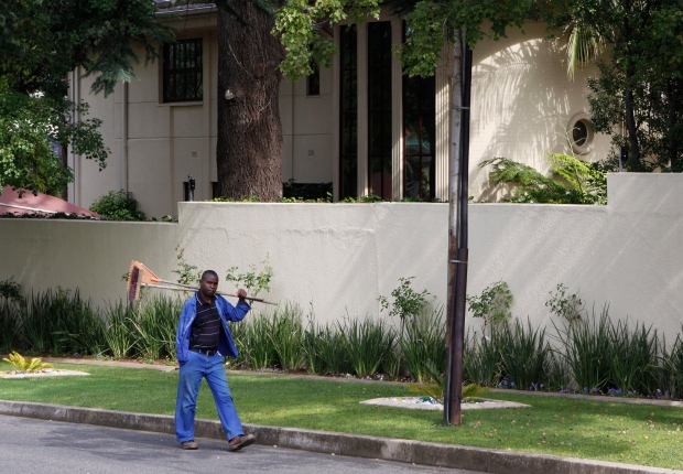 Mandela's home in Johannesburg, Dec. 20, 2012.