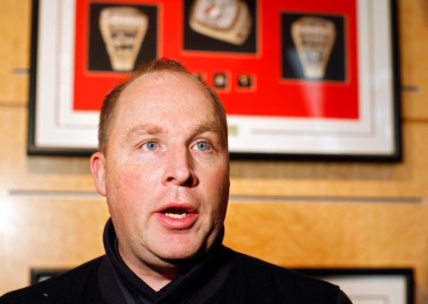 Canadian Men's junior hockey coach Steve Spott