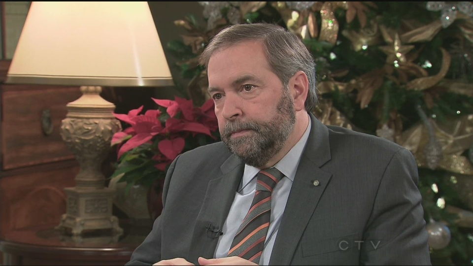 Appearing on CTV's Question Period, NDP Leader Thomas Mulcair looks ahead to upcoming challenges with opposing parties and separatism supporters.