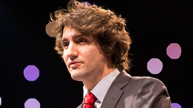 Liberal leadership hopeful Justin Trudeau delivers a keynote address to Reviving the Islamic Spirit conference in Toronto on Saturday December 22, 2012. (Chris Young / THE CANADIAN PRESS)