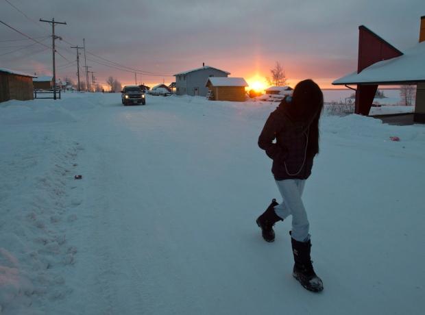Fort Hope First Nation, Ont. Dec. 18, 2012.