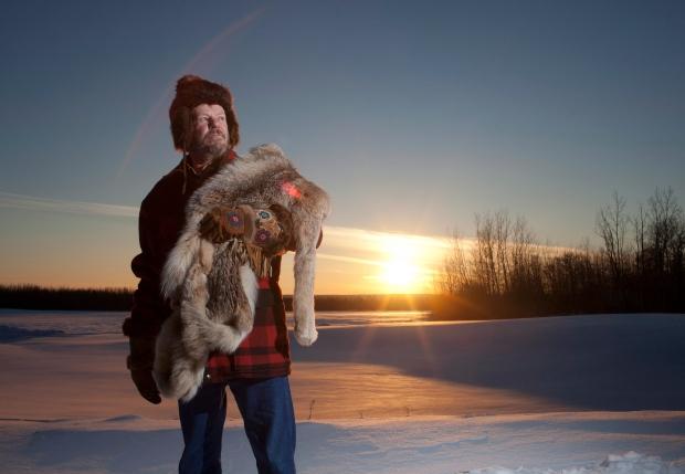 Trapper Ken Cowles laments forest destruction