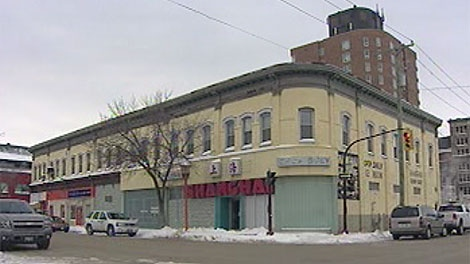 The Shanghai Restaurant before its demolition.  (file image)