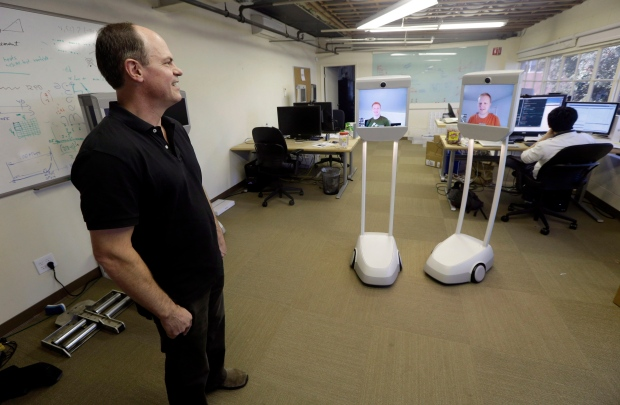 Telepresence Robots Let Employees Beam Into Work Ctv News