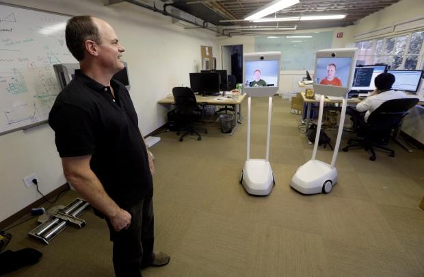 A Beam remote presence system in Palo Alto, Calif.