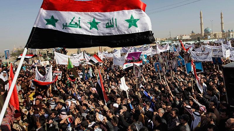 Iraq demonstrators