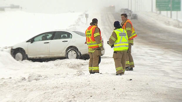 Emergency crews have been busy on Alberta highways.