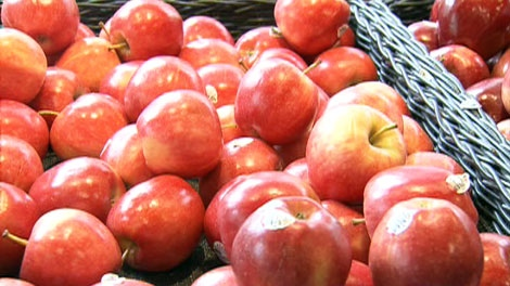 Modified apples