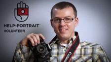 Local photographer Krystian Olszanski organised the Saskatoon Help-Portrait event on Dec. 4, 2010.