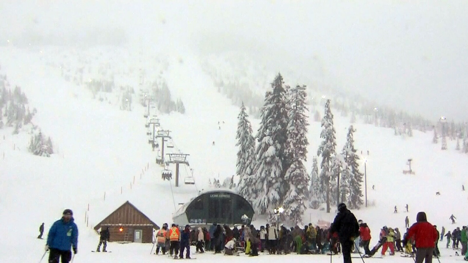 Cypress Mountain is a ski area in West Vancouver, B.C.