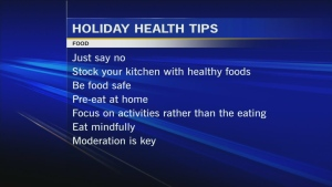 Canada AM: Dr. Marla shares holiday health tips