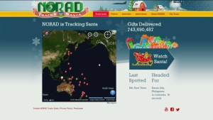 Canada AM: Santa making his way around the world