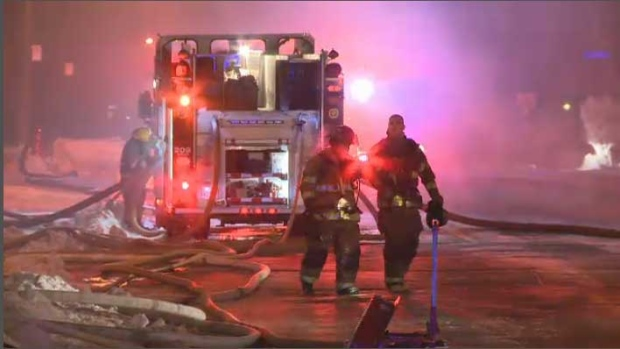 Firefighters still don't know what caused the powe