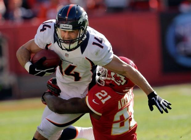 Denver Broncos wide receiver Brandon Stokley