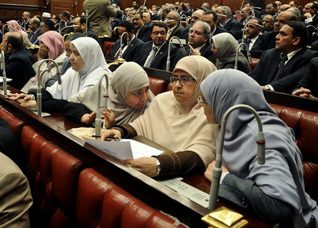 Egyptian government convenes for first time