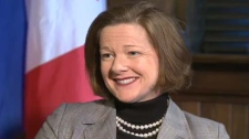 Tara Nelson, Alison Redford, Alberta Premier