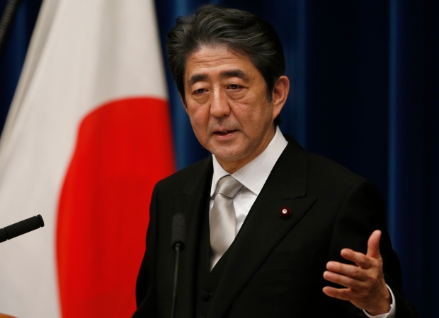 Japanese Prime Minister Shinzo Abe Dec. 26 2012