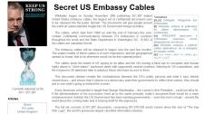WikiLeaks is seen in this screen shot taken Monday, Dec. 6, 2010.