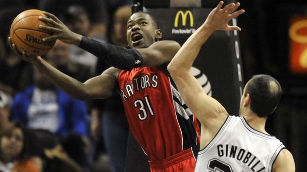 Toronto Raptors guard Terrence Ross