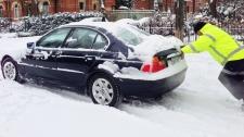 Winter storm wallops Ontario