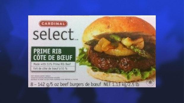 Cardinal Select Prime Rib Beef