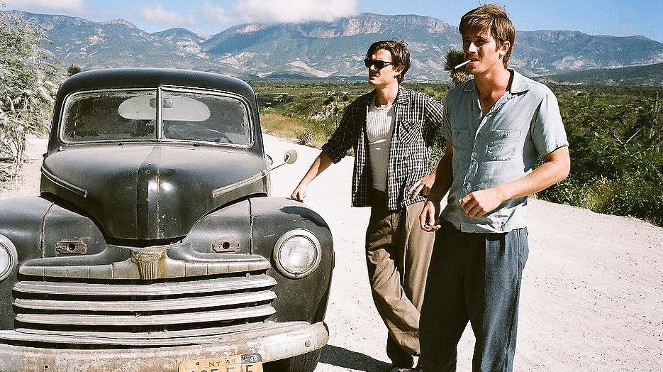Sam Riley and Garrett Hedlund in a scene from Alliance Films' 'On the Road'.