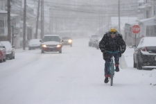Powerful winter storm hits the U.S. northeast