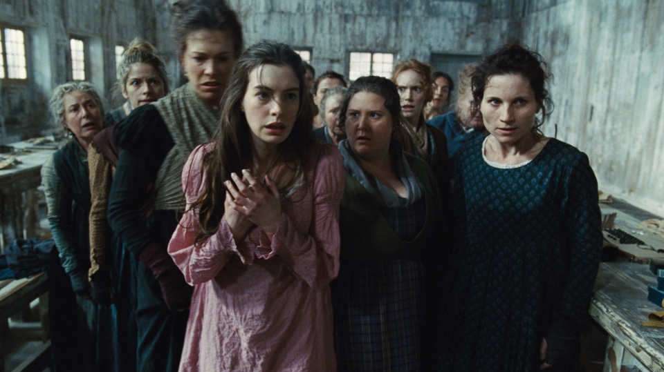 Anne Hathaway in a scene from Universal Pictures' 'Les Miserables'