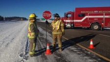 Trans-Canada Highway fatal collision