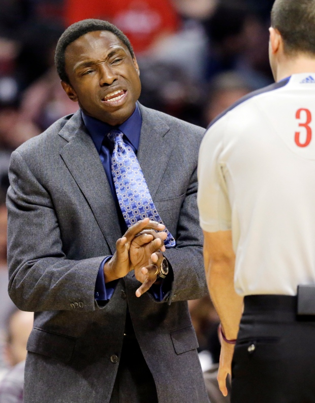 Brooklyn Nets head coach Avery Johnson