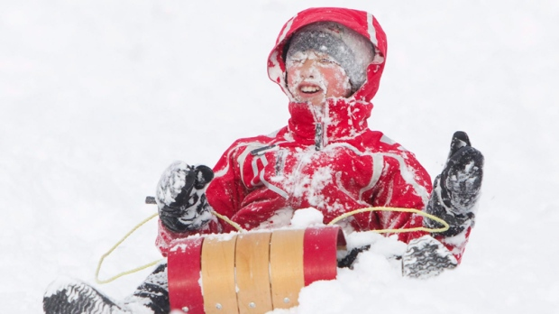 Tobogganing safety tips