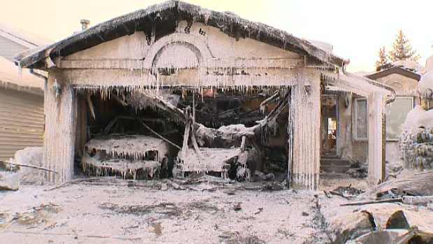 A house fire in St. Albert on Wednesday night caused an estimated $750,000 of damage.