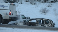 Trans-Canada Highway crash