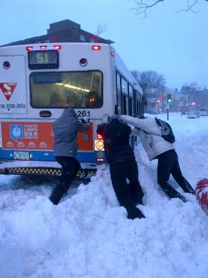 Winter Storm Montreal