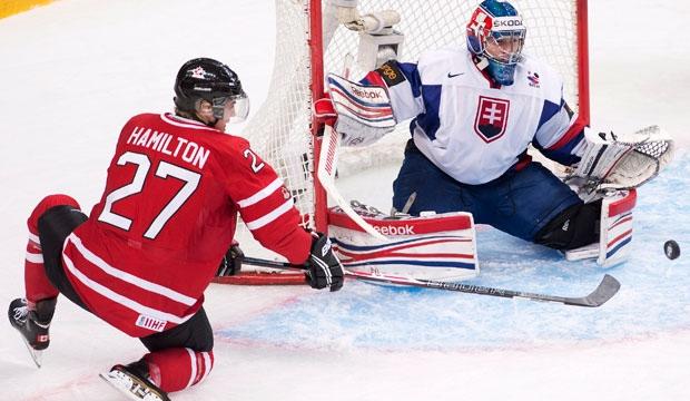 Canada, World Junior Hockey Championship, Slovakia