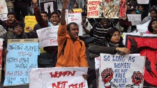 Gang-rape victims fighting for life in India