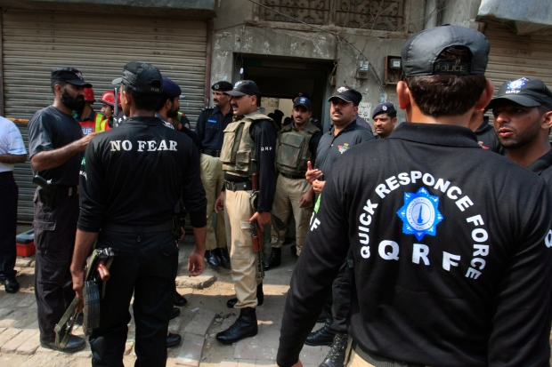 23 policemen in Pakistan kidnapped
