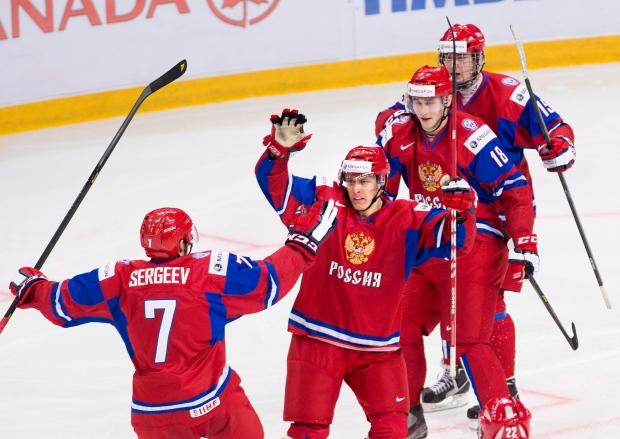 Russia forward Vladimir Tkachyov,