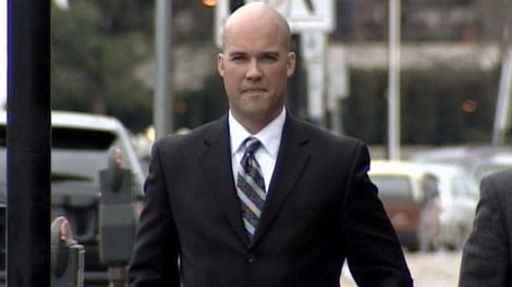 RCMP Const. Steve Conlon is on trial for the assault of a pregnant teenager. Dec. 7, 2010. (CTV)