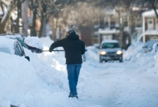 Shovelling  snow can be dangerous for your heart