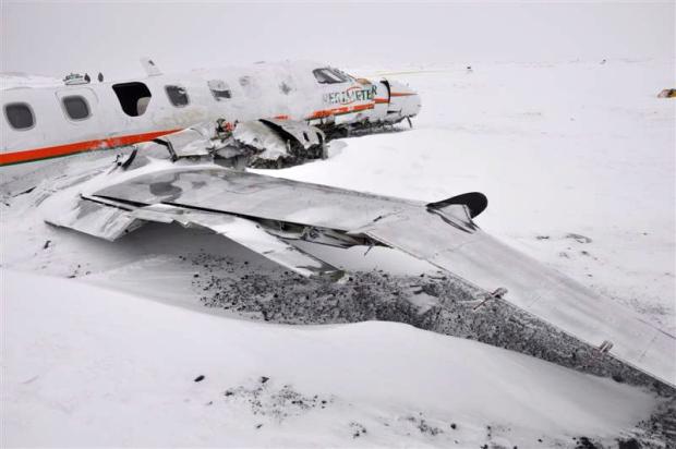 Report on fatal plane crash in Nunavut