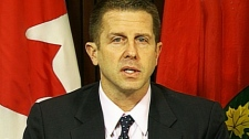 Ontario Ombudsman Andre Marin speaks at a news conference, Tuesday, Dec. 7, 2010.
